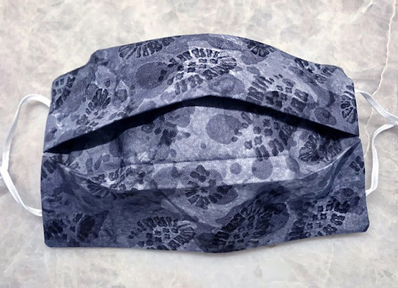 Boot Stomp - Gray, Reversible Face Mask