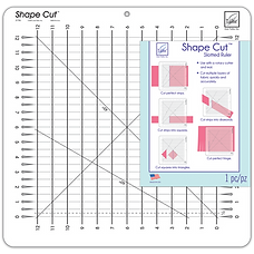 quilting ruler shape cut