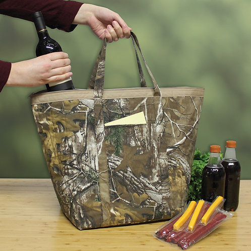 Insulated Zipper Tote - Realtree® Xtra©