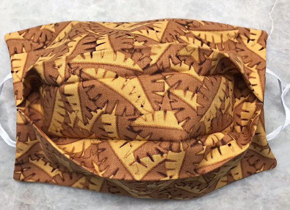 Primitive Palms - Sepia, Reversible Face Mask