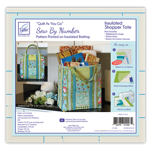 Insulated Shopper Tote - 1/pack