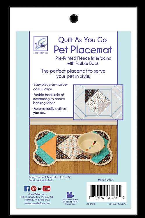 Pet Placemat - Dog Bone - 1/Pack