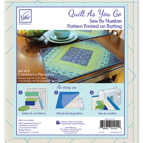 QAYG Placemats - Casablanca - 6/pack