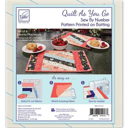 Jakarta Placemats - 6/pack