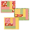 Thumbnail: Mug Mats - Log Cabin - Quilt As You Go - 3 pack