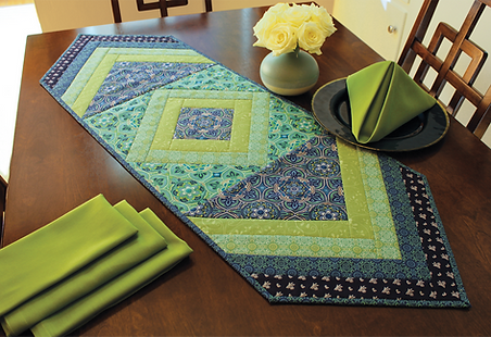 Quit As You Go Table Runner