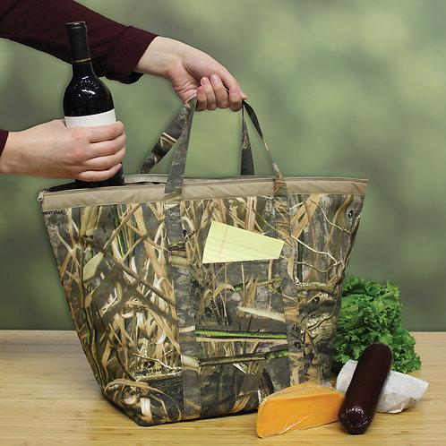Insulated Zipper Tote - Mossy Oak® Shadow Grass Habitat®