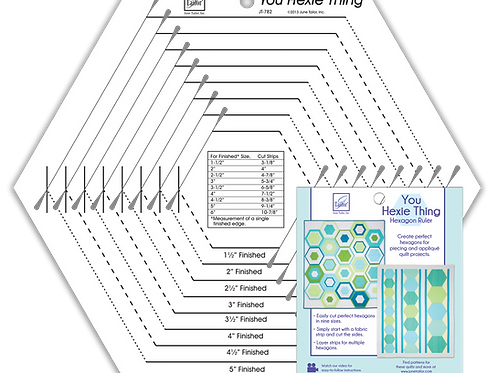 You Hexie Thing Hexagon Ruler