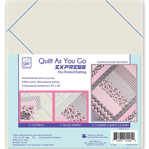 QAYG Lap Quilt - Sophisticated Strips