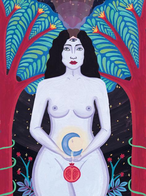 The High Priestess - Tarot Card