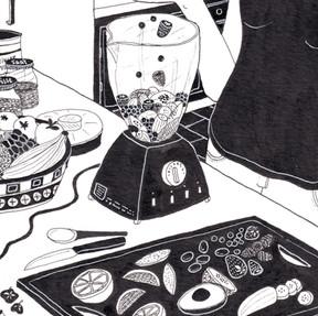 Editorial Illustration for Flow Magazine