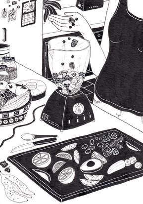 Blender Illustration - Helena Goddard RG