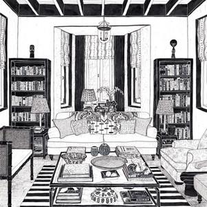 Elizabeth's Sitting Room Artwork