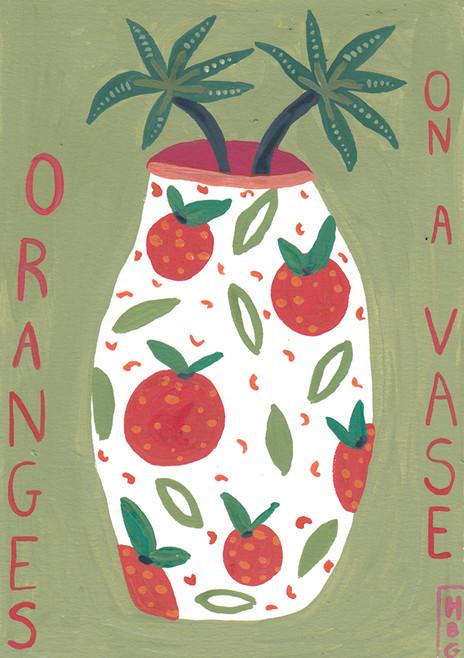 Baby Paintings - Oranges
