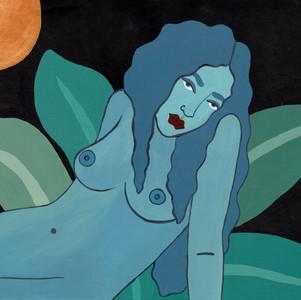 Blue Jungle Ladies (1 of 2)