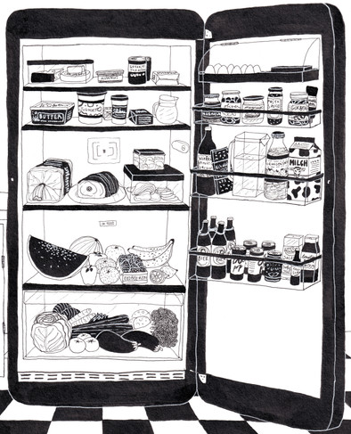 Fridge Illustration - Helena Goddard RGB