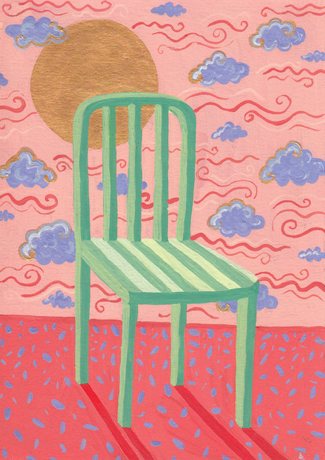 Baby Paintings - Chair in the Sun