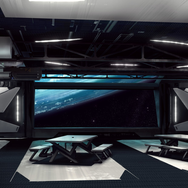 Concept Art Main Room