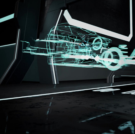 Tron Car Exploration