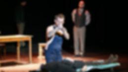 Актер Саша Сибирцев. Роль, крематорщик Карпан, душка, Евангелие от палача, Вайнер, Вайнеры, театр Комната 4, спектакль. Кино, театр, биография, фильмография, спектакли, портфолио, видео визитка.