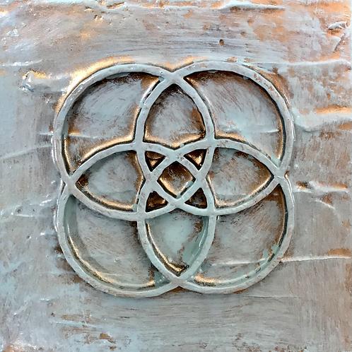 Sacred geometric Paintings set