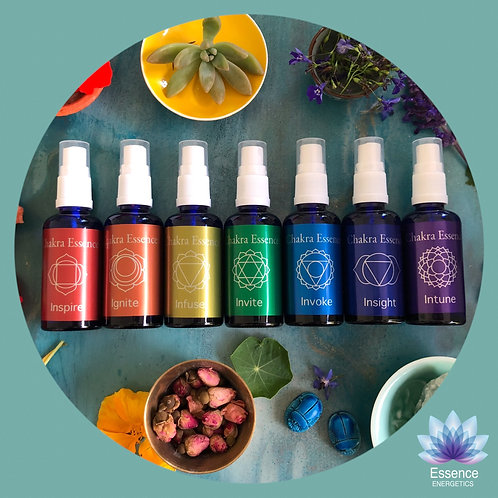 Chakra Essence: Full Set of 7 Sprays