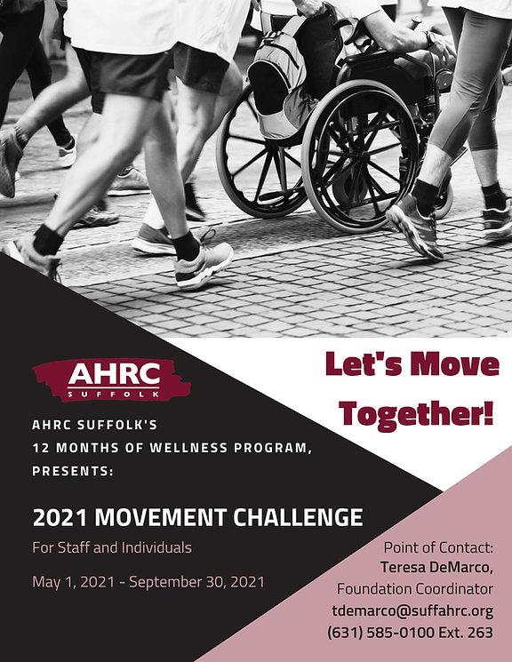 AHRC Suffolk's 2021 Movement Challenge G
