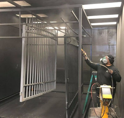 Rockstar Welding's Powder Coating Booth