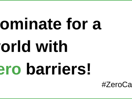 The Zero Project 2022  - Theme: Accessibility