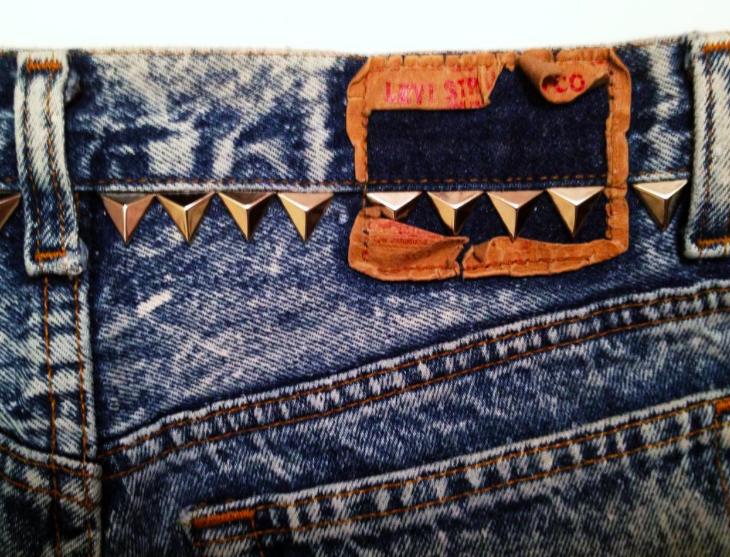 Triangle Studded Back Panel