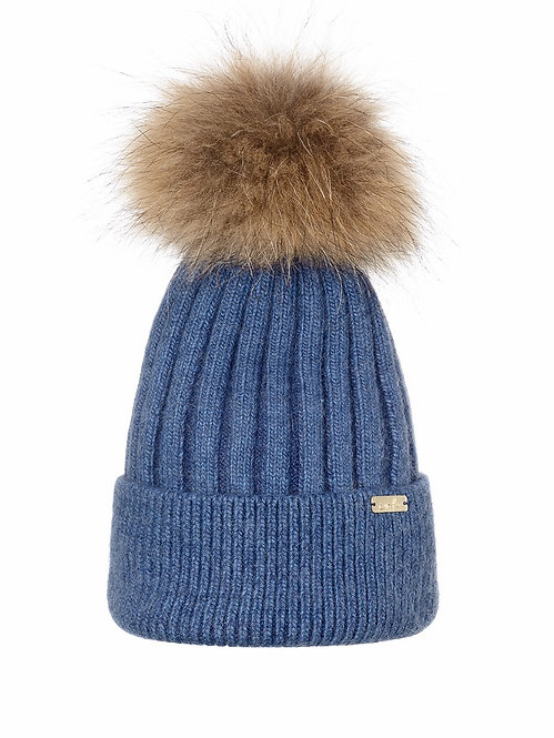 LEVI BLUE LUXE BEANIE