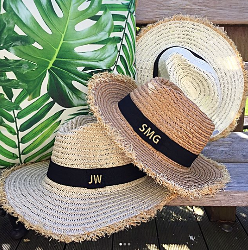 MONOGRAM PANAMA HAT