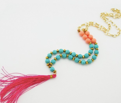 BALI BEAD NECKLACE