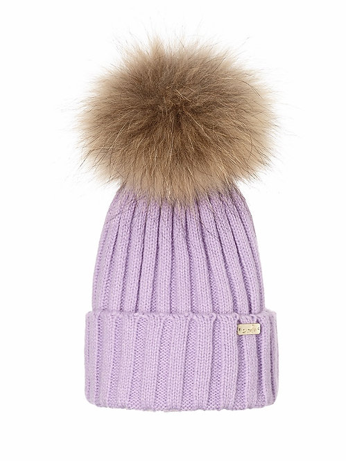 PASTEL LAVENDER LUXE BEANIE