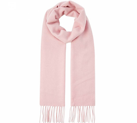 POWDER PINK MONOGRAM SCARF