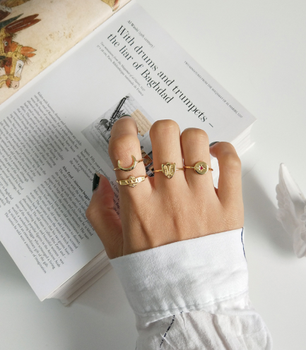 Moonchild Stacker Rings