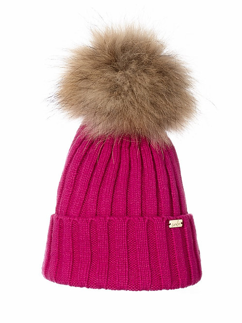 HOT PINK KIDS LUXE BEANIE