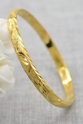 FROSTED BANGLE