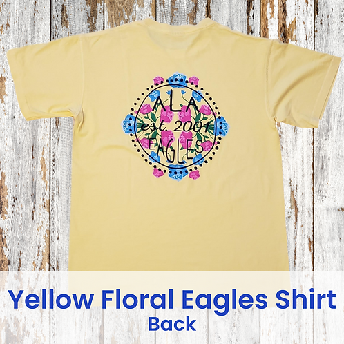 Yellow Floral Spirit Shirt