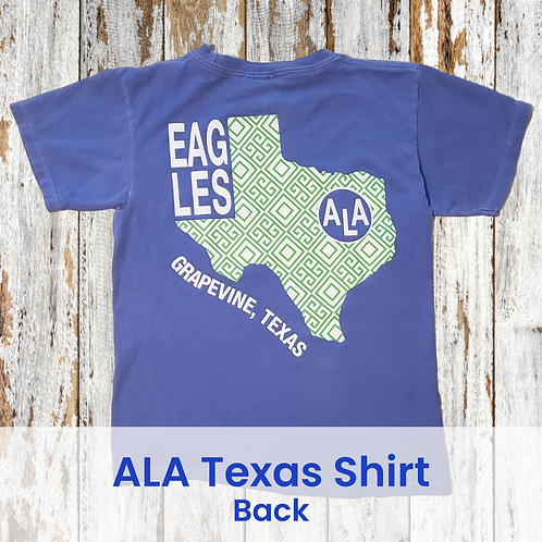 ALA Green Diamonds Texas Shirt