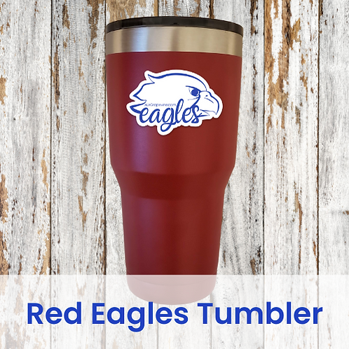 Red Eagles Tumbler