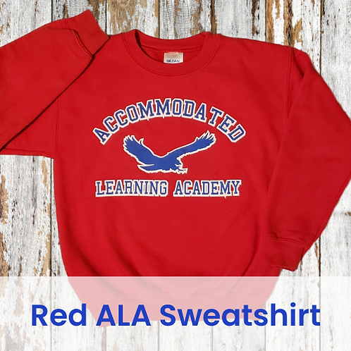 Red ALA Sweatshirt
