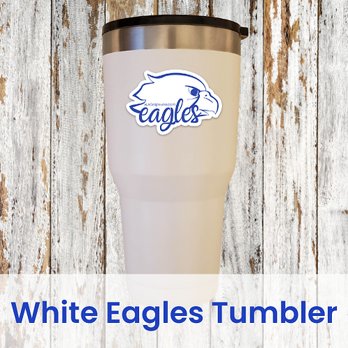 White Eagles Tumbler