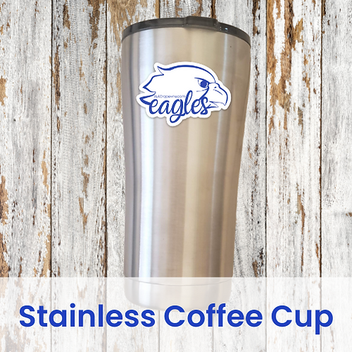 Stainless Eagles Coffee Cup