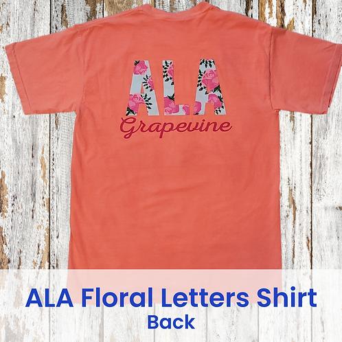 ALA Floral Letters Shirt