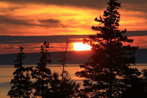 Bay Of Fundy Sunset