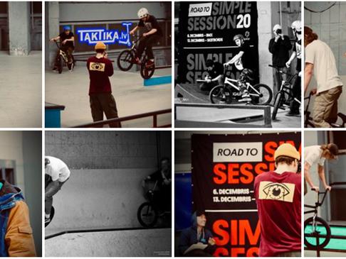 """Simple Session 2020"" BMX STREET kvalifikācija"