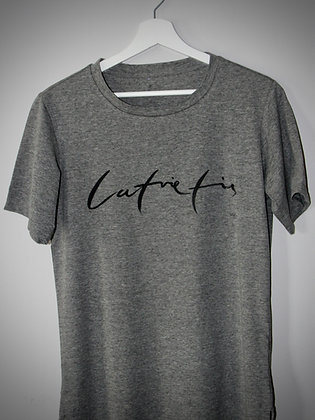 Tumši pelēks BlankBlank dizaina krekls // Latvietis