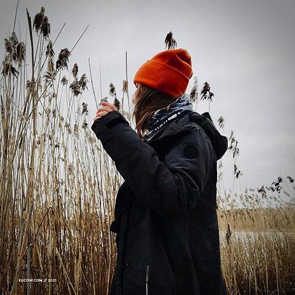 Krāsaina ziemas cepure // Latviete