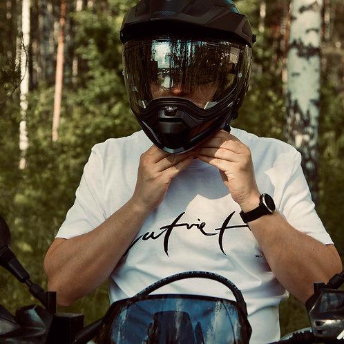 Latvietis | Vīriešu kokvilnas T-krekls (balts)
